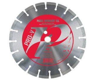 "Pearl Abrasive PV1612XL Pro V Series 16""x .125"" x 1"", 20mm   12mm Height Diamond Blade"
