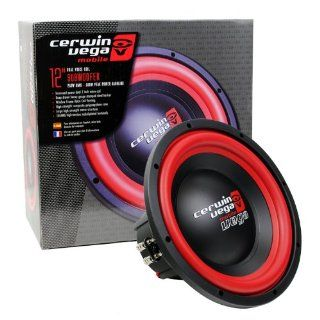 "Cerwin Vega VEGA124.2 12"" Dual 4 ohm Car Subwoofer 500Watts Power  Vehicle Subwoofers   Players & Accessories"