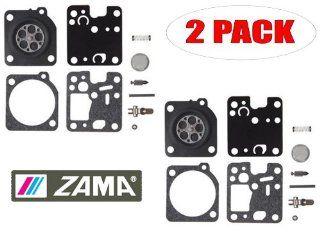 Genuine Zama RB 123 Carburetor Repair Kit for RB K7S, RB K8S and RB K75 (2 Pack)