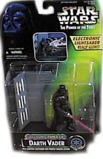 Star Wars Power of the Force Electronic Power F/X Darth Vader Action Figure Toys & Games