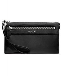 COACH BOX PROGRAM LEATHER ZIPPY WALLET   COACH   Handbags & Accessories