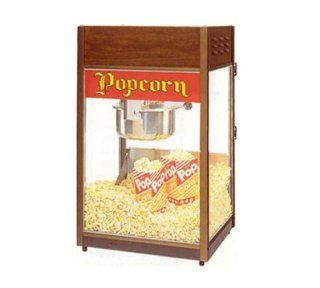 Gold Medal 2086 120240 Unimaxx P 60 Popcorn Machine w/ 6 oz Stainless Kettle & Cooper Dome, 120/240V, Each: Electric Popcorn Poppers: Kitchen & Dining