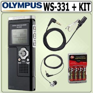 Olympus WS 331M 2GB Digital Voice Recorder & Deluxe Accessory Kit Electronics