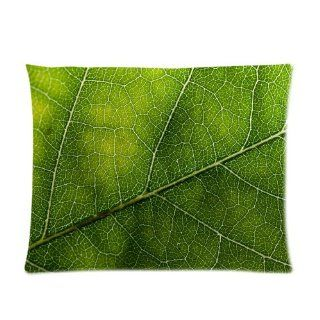 Green Leaf Custom Pillowcase Standard Size 20x26 CP 1010