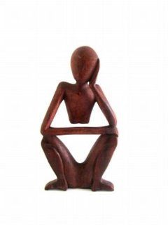 "Shop Thinker Statue Meditation Yoga Statue Abstract Modern Art   12"" Collector's Quality  OMA BRAND at the  Home D�cor Store"