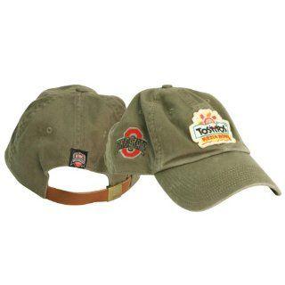 Ohio State Buckeyes 2009 Fiesta Bowl Bound Adjustable Baseball Cap (Olive Green)  Sports Fan Baseball Caps  Sports & Outdoors