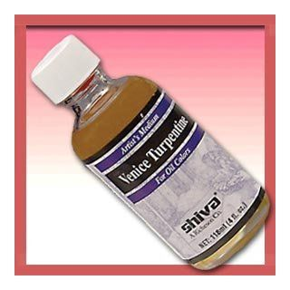 Richeson Shiva Series Oil   3.75 oz Bottle   Imitation Venice Turpentine: