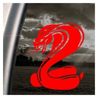 King Cobra Snake Red Decal Car Truck Window Red Sticker   Themed Classroom Displays And Decoration