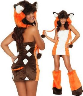 3WISHES 'Adorable Deer Costume' Sexy Animal Costumes for Women Adult Sized Costumes Clothing