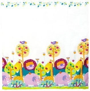 Kushies Baby Jungle Themed Shower Curtain : Massage Oils : Beauty
