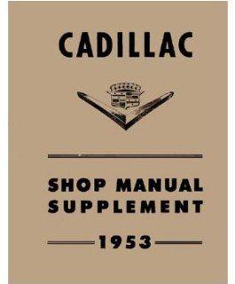 1953 Cadillac 60 62 75 Fleetwood Shop Service Repair Manual Engine Electrical Automotive