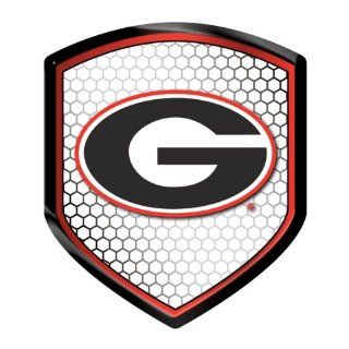 Georgia Bulldogs NCAA Reflector Decal Auto Shield for Car Truck Mailbox Locker Sticker College Licensed Team Logo : Sports Fan Mailboxes : Sports & Outdoors
