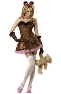 Sexy Teddy Girl Costume   Adult Costume   Large: Adult Sized Costumes: Clothing