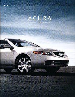 2004 Acura TSX Sedan Deluxe Sales Brochure Book