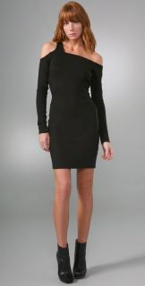 Helmut Lang Bondage Long Sleeve Dress