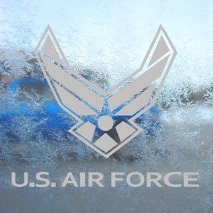Us Air Force Usaf Gray Decal Car Truck Window Gray Sticker   Themed Classroom Displays And Decoration