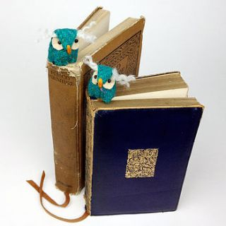 handmade twiggy the owl bookmark by mirjami design