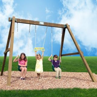 Creative Playthings Classic Swing Set Outdoor Play