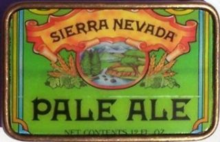 Hand Made Vintage Style SIERRA NEVADA PALE ALE Beer Can Belt Buckle: Clothing