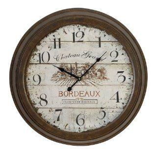 Shop Metal Wall Clock Unique Aesthetic Appeal by Benzara at the  Home D�cor Store. Find the latest styles with the lowest prices from Benzara