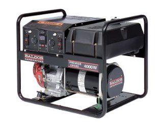4,000 Watt Premier Industrial Portable Generator With Honda Engine Patio, Lawn & Garden