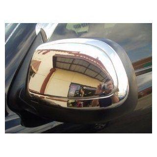 GMC Yukon Sierra Chevy Silverado Suburban Tahoe Avalanche Chrome Mirror Covers 2000 2006: Automotive