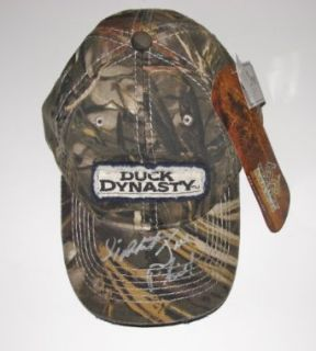 Si Jase Phil Robertson Autographed Signed Duck Dynasty Hat COA Willie: Entertainment Collectibles