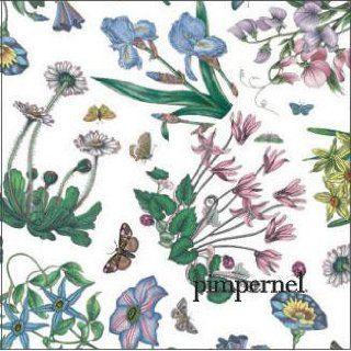 Portmeirion Botanic Garden Chintz Dinner Paper Napkins, 24 Pack: Kitchen & Dining