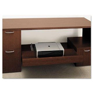 HONPSHELF1F   Attune Series Under Credenza Storage With File and Printer Shelf : Storage Cabinets : Office Products