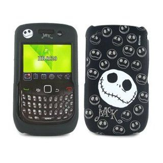 Blackberry Curve 8520/ 8530/ 9300 Nightmare Before Christmas Jack Skellington Face Disney Protector Case: Cell Phones & Accessories