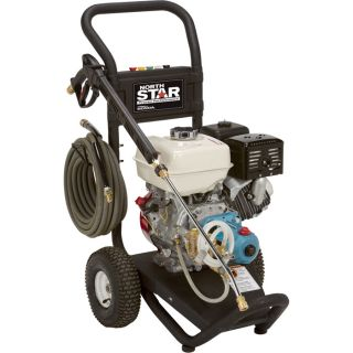 NorthStar Gas Cold Water Pressure Washer — 3.0 GPM, 3300 PSI, Model# 15781820  Gas Cold Water Pressure Washers