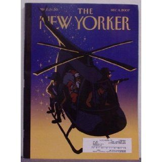 The New Yorker Volume 83 Number 38, December 3, 2007: Geraldine Brooks, Marisa Silver, Bill Buford, Frances FitzGerald, John Updike and others, Robert Mankoff, Gahan Wilson, Matthew Diffee, Roz Chast and others: Books