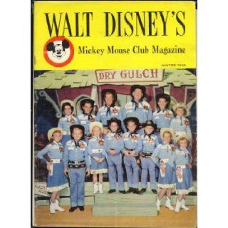 "Walt Disney's ""Mickey Mouse Club Magazine"" Winter 1956, Volume 1, Number 1 (MMC Talent Round Up Day cover): Walt Disney, Annette Funicello: Books"