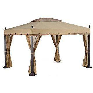 Replacement Canopy for 's Mediterra Gazebo (10'x12)  Outdoor Gazebos  Patio, Lawn & Garden