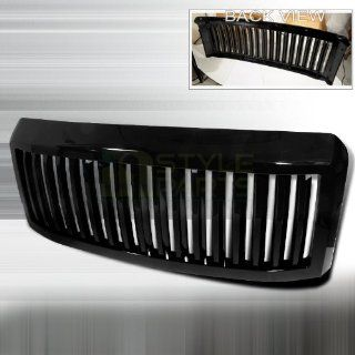 2008 2010 Ford F250 Vertical Grill Black: Automotive