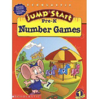 Jumpstart Pre k: Number Games (9780439176545): Anne Schreiber, Duendes Del Sur: Books
