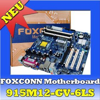 FOXCONN 915M12 GV 6LS Motherboard mainboard Pentium 4 Computer & Zubeh�r