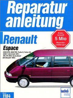 Reparaturanleitung: Renault Espace ab Baujahr 1984: Bücher