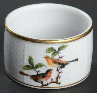 Herend Rothschild Bird (Ro) Napkin Ring, Fine China Dinnerware