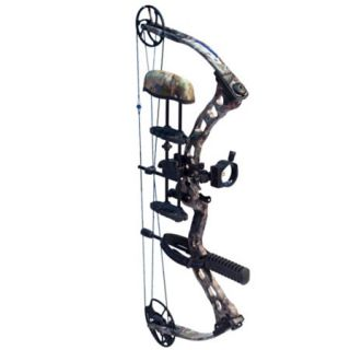 Quest Rogue Compound Bow Package 60 lbs. RH Realtree AP 695364