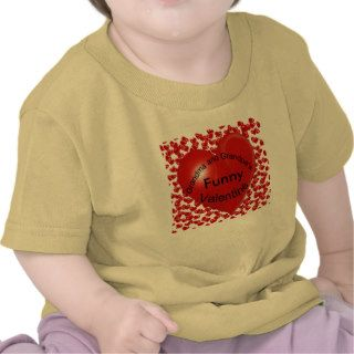 Grandma and Grandpa's Funny Valentine T Shirt