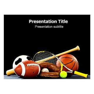 Sports (Ppt) Powerpoint Template  Template on Sport Background  PPT Template on Sport  Sport Powerpoint Theme Software