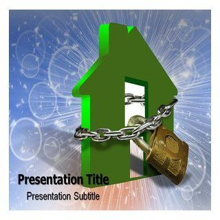 Home Security Powerpoint Templates   Home Security Powerpoint (PPT) Backgrounds Theme Software
