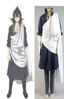 Fairy Tail Zeref Cosplay Costume Please Email Us Your Custom made Information: Clothing