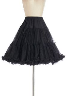 Va Va Voluminous Petticoat in Black   Short  Mod Retro Vintage Underwear