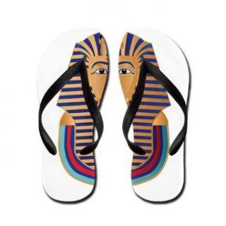 Artsmith, Inc. Men's Flip Flops (Sandals) Egyptian Pharaoh King Tut: Costume Footwear: Clothing