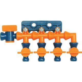 "Loc Line Coolant Hose Total Flow Control Manifold, Acetal Copolymer, 1/4"" Hose ID Cutting Tool Coolants Industrial & Scientific"