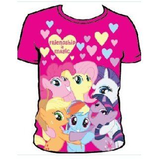 My Little Pony Toddler Friendship is Magic T Shirt, Pink, Juvy Small 4 Clothing