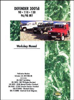 Land Rover Defender 300 Tdi 1996 1998 Brooklands Books Ltd 9781855205048 Books