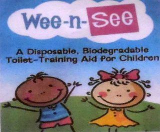 "Wee n See Toilet Potty Training Aid for Children (Child's urine in toilet makes contact with the aid, chemical reaction takes place revealing picture ""reward""    makes it FUN for the child!) : Other Products : Everything Else"
